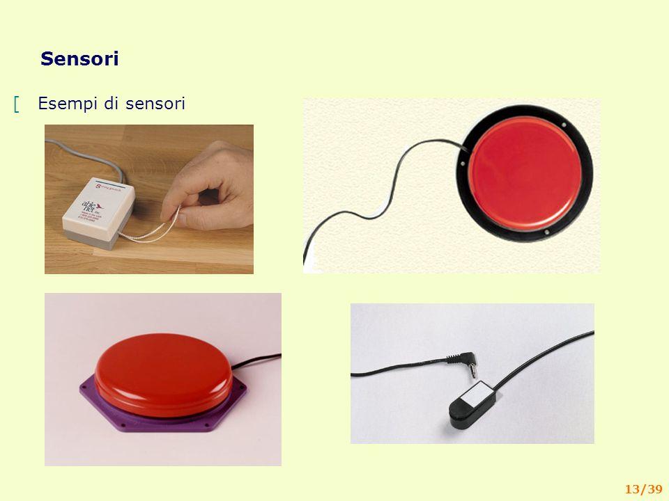 13/39 Sensori [Esempi di sensori