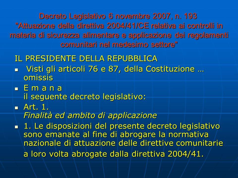 Decreto Legislativo 6 novembre 2007, n.