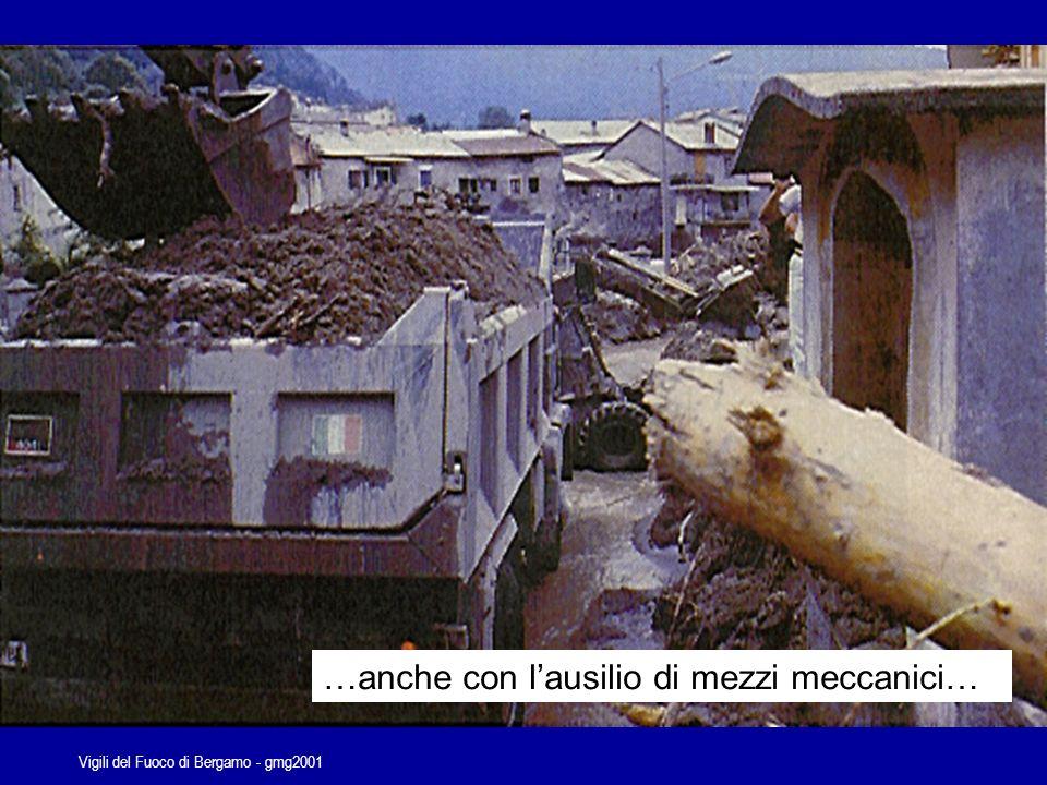 Vigili del Fuoco di Bergamo - gmg2001 Priorità di carattere generale Salvataggio delle persone Stabilizzazione dellevento incidentale Protezione dei beni Ripristino delle condizioni di normalità