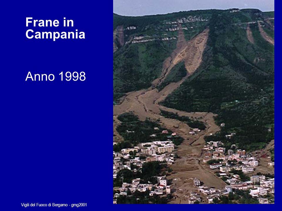Vigili del Fuoco di Bergamo - gmg2001 Frane in Campania Anno 1998