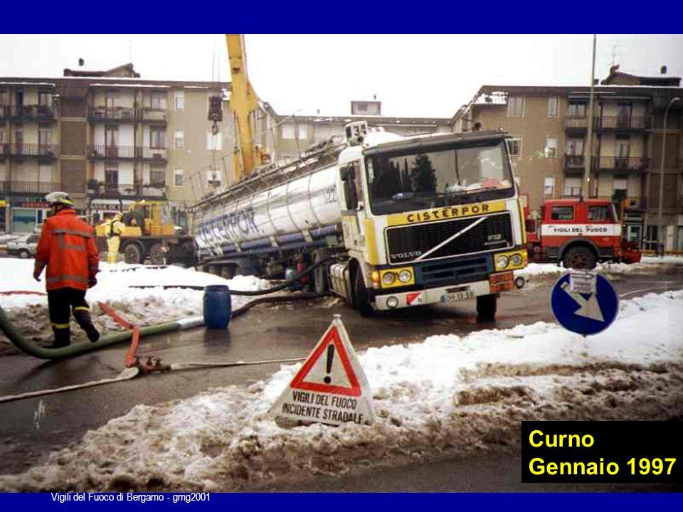 Vigili del Fuoco di Bergamo - gmg2001 Autostrada A4 1997...sempre le stesse priorità…