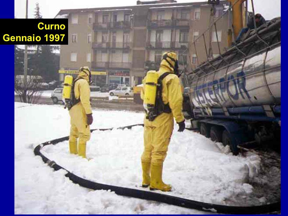 Vigili del Fuoco di Bergamo - gmg2001 Curno Gennaio 1997