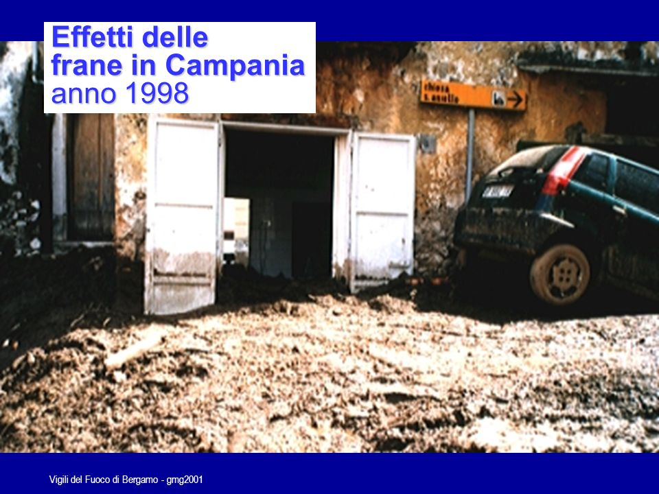 Vigili del Fuoco di Bergamo - gmg2001 Punto di attesa Posto di comando