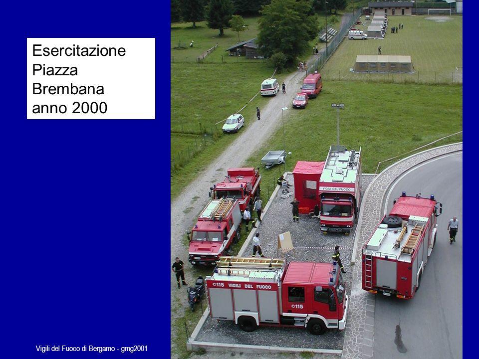 Vigili del Fuoco di Bergamo - gmg2001 Tipica squadra di prima partenza dei Vigili del Fuoco