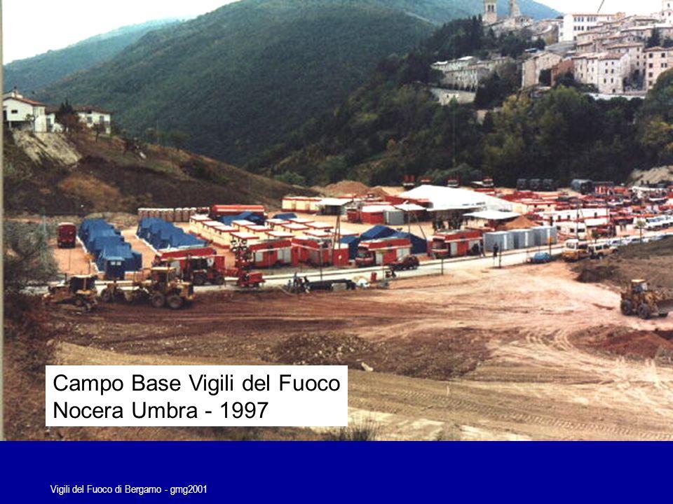 Vigili del Fuoco di Bergamo - gmg2001 Esercitazione Piazza Brembana anno 2000