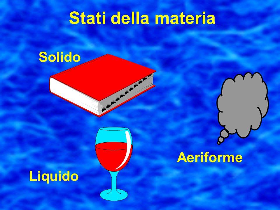 Materia acqua legno sabbia aria noi