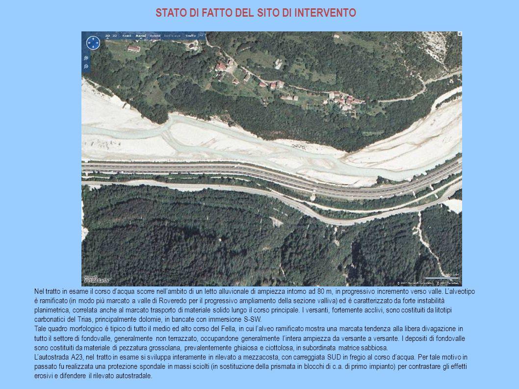 EVENTO ALLUVIONALE AGOSTO 2003 Nei giorni del 29-31 agosto 2003, si sono verificate, lungo la vallata del f.