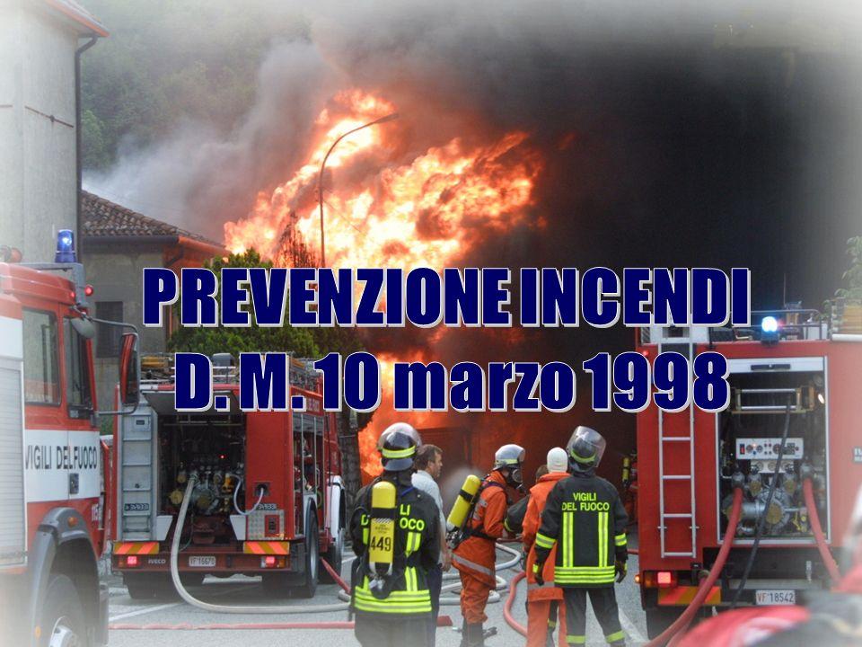 Generalità Il datore di lavoro ha lobbligo di fornire ai lavoratori una adeguata informazione e formazione sui principi della prevenzione incendi e sulla attuazione delle misure da attuare in presenza dincendio