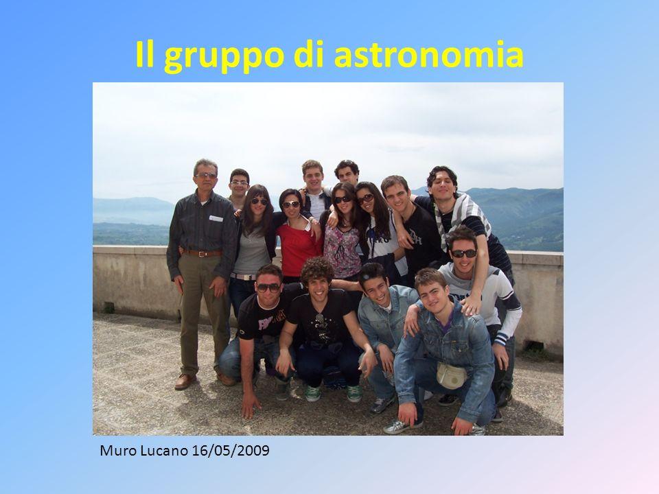 Il gruppo di astronomia Muro Lucano 16/05/2009