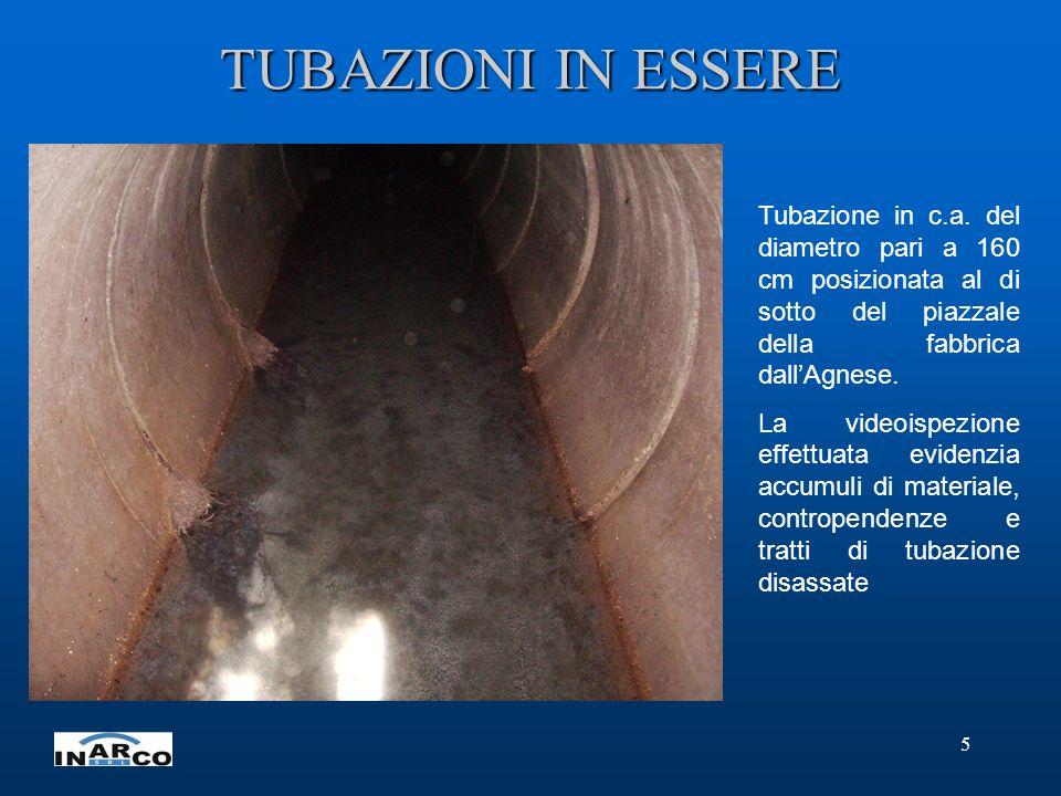5 TUBAZIONI IN ESSERE Tubazione in c.a.