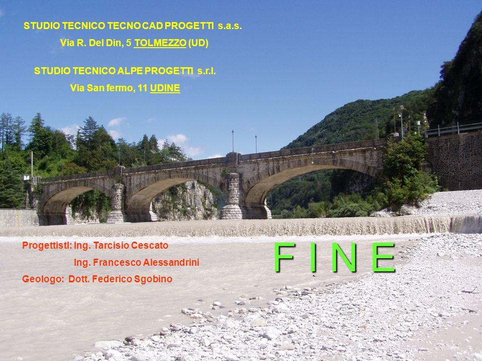Viabilità Provinciale della Val Aupa33 STUDIO TECNICO TECNO CAD PROGETTI s.a.s.