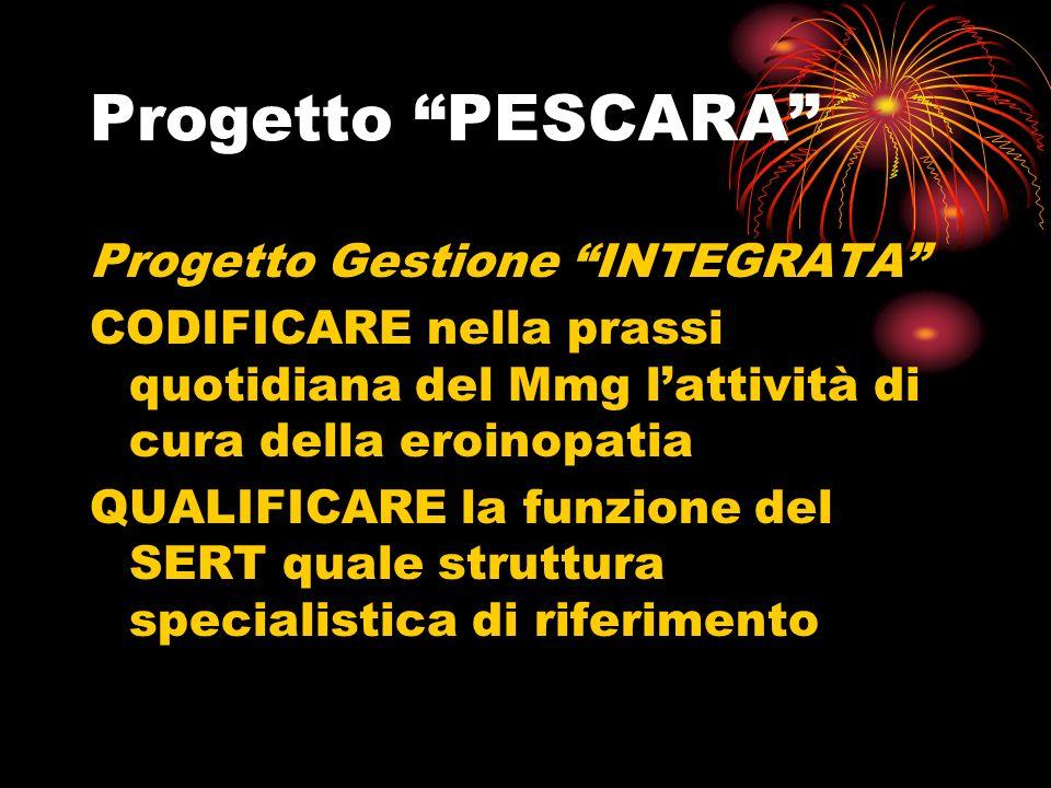 Progetto PESCARA >> DIAGNOSI-DEFINIZIONE PIANO TERAPEUTICO- CONTROLLI TOSSICOLOGICI CT >> COUNSELLING PSICOLOGICO E SOCIALE : VALUTAZIONE E STABILIZZAZIONE ASSETTO PSICO-SOCIALE