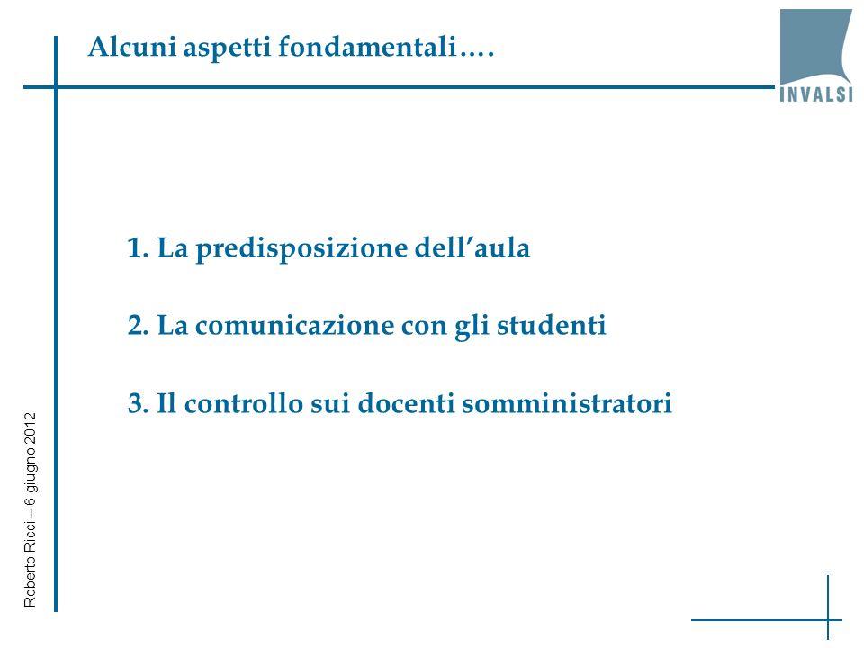 Alcuni aspetti fondamentali…. 1. La predisposizione dellaula 2.