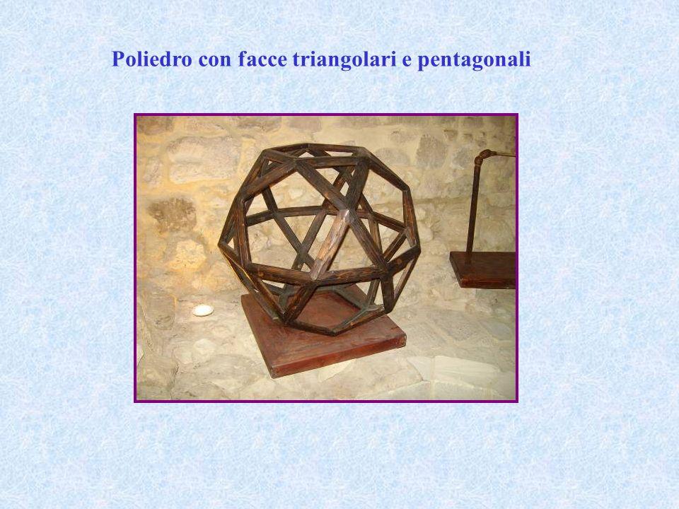Poliedro con facce triangolari e pentagonali