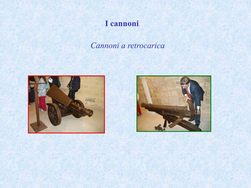 I cannoni Cannoni a retrocarica