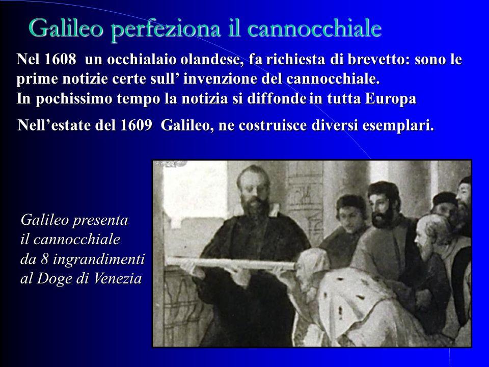 Nellestate del 1609 Galileo, ne costruisce diversi esemplari. Nel 1608 un occhialaio olandese, fa richiesta di brevetto: sono le prime notizie certe s