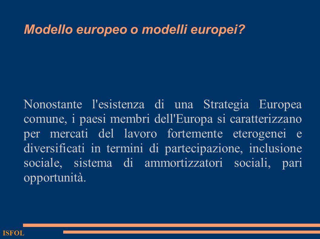 Modello europeo o modelli europei? Nonostante l'esistenza di una Strategia Europea comune, i paesi membri dell'Europa si caratterizzano per mercati de