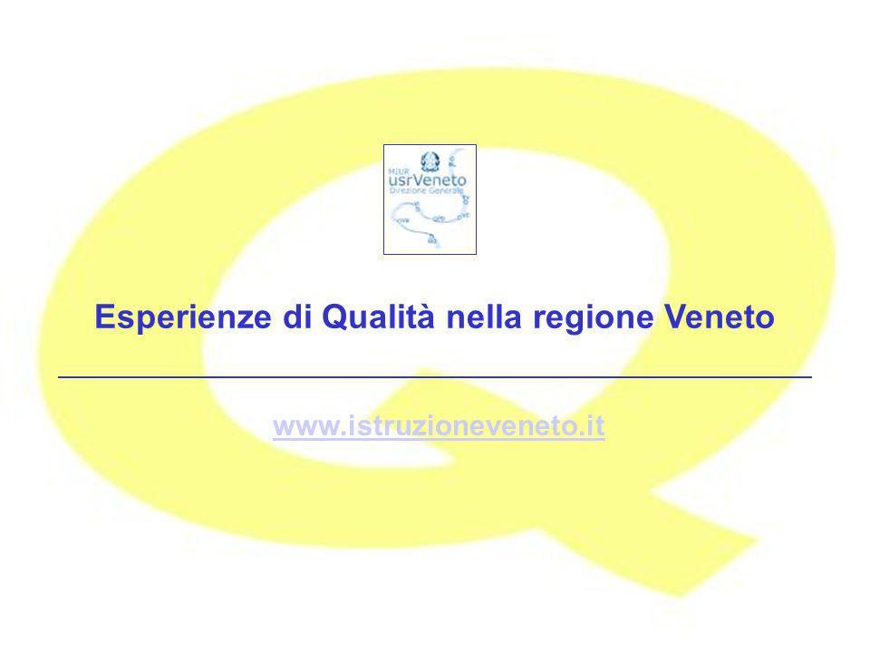 www.istruzioneveneto.it Esperienze di Qualità nella regione Veneto