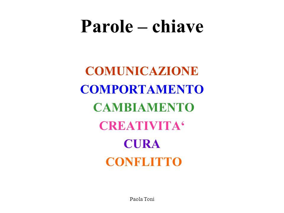 Paola Toni LA COMUNICAZIONE E UN PROCESSO CIRCOLARE DI INFLUENZAMENTO RECIPROCO