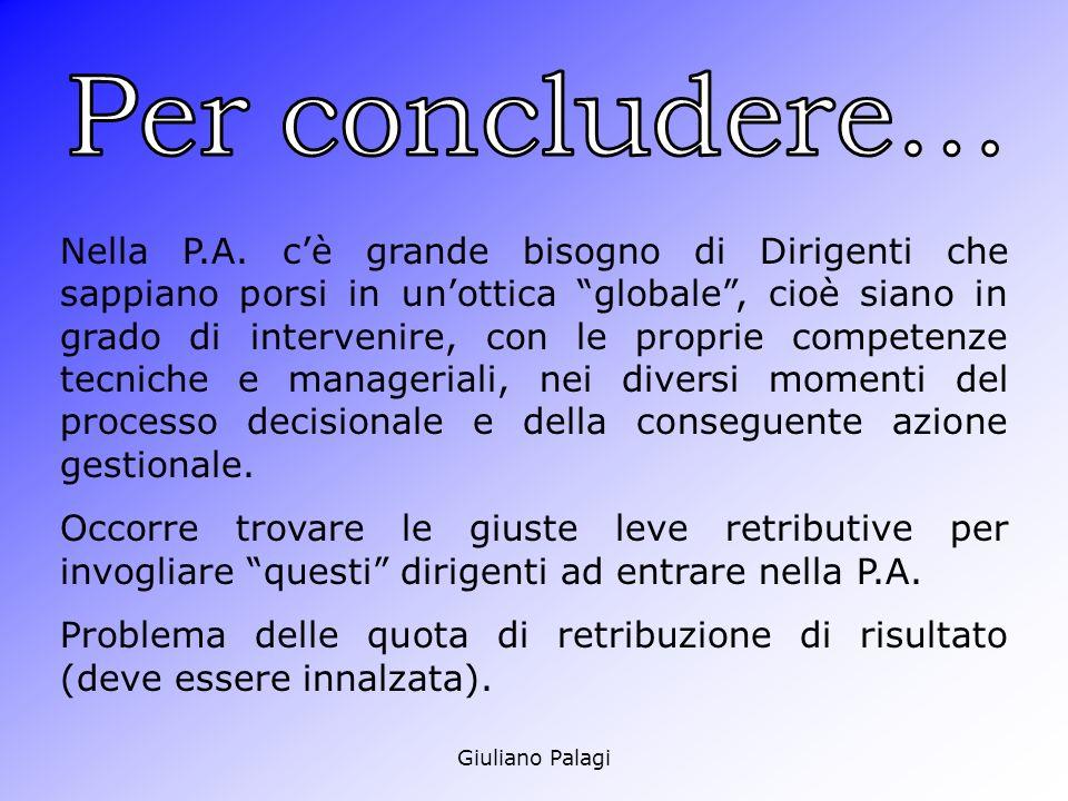 Giuliano Palagi Nella P.A.