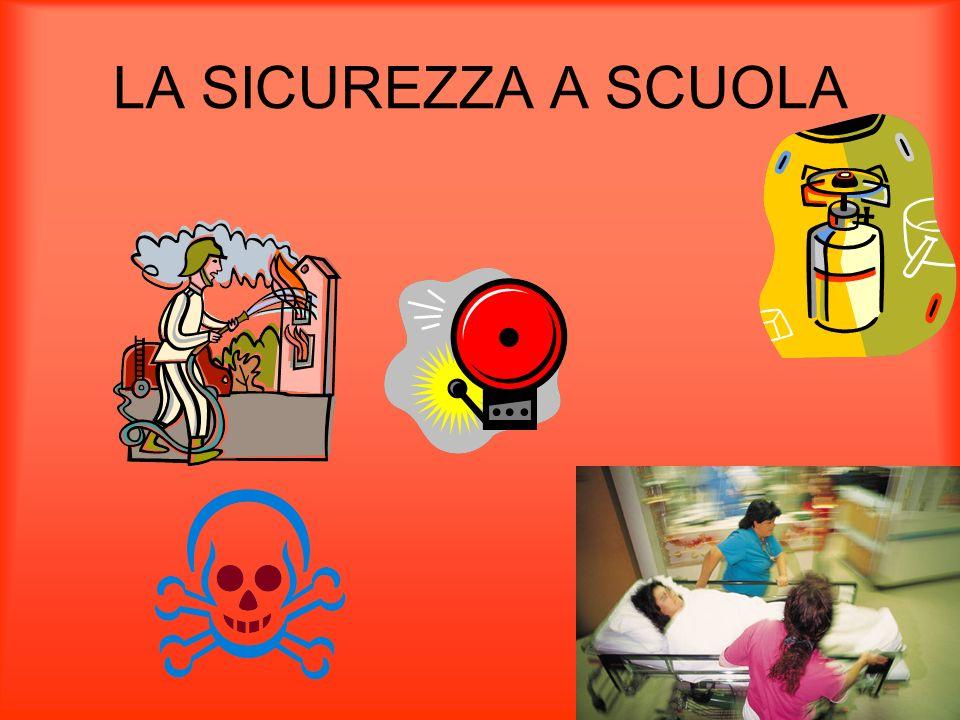 LA SICUREZZA A SCUOLA