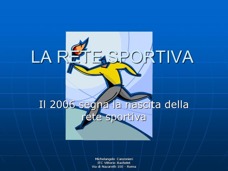 Michelangelo Canzonieri ITC Vittorio Bachelet Via di Nazareth 150 - Roma Ne fanno parte: L ITC V.