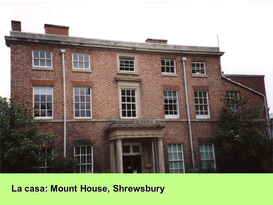 La casa: Mount House, Shrewsbury