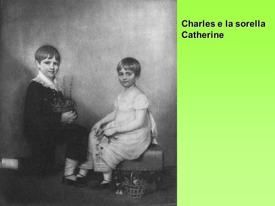 Charles e la sorella Catherine