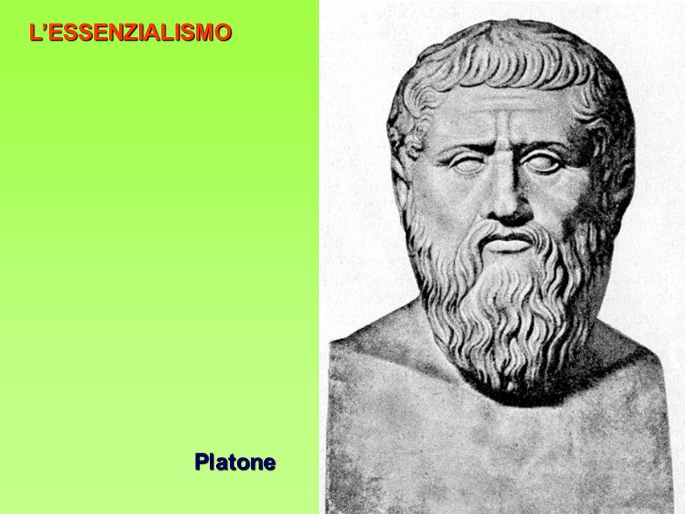 LESSENZIALISMO Platone