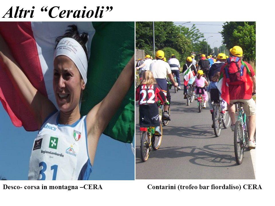 Desco- corsa in montagna –CERA Contarini (trofeo bar fiordaliso) CERA Altri Ceraioli