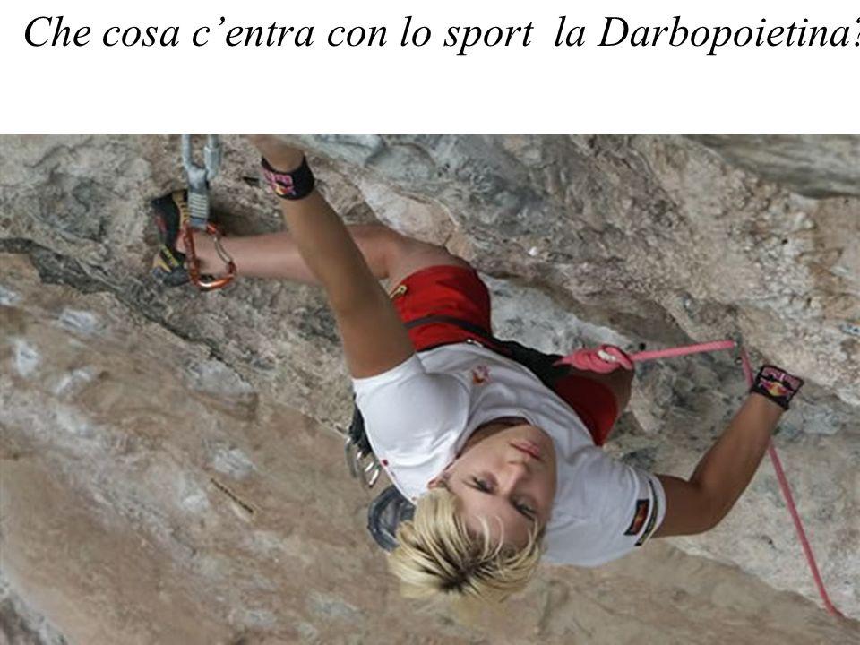Che cosa centra con lo sport la Darbopoietina