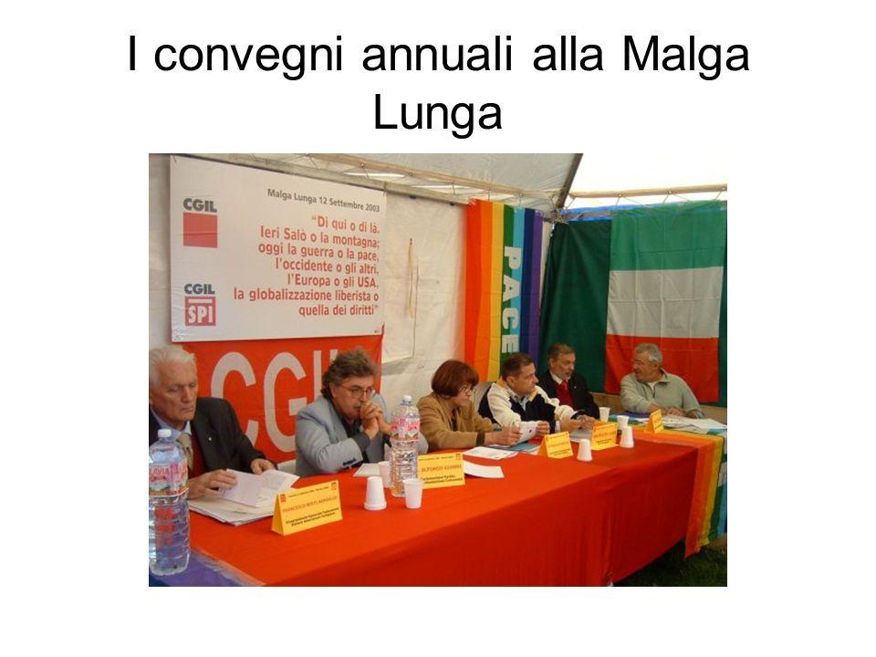 I convegni annuali alla Malga Lunga