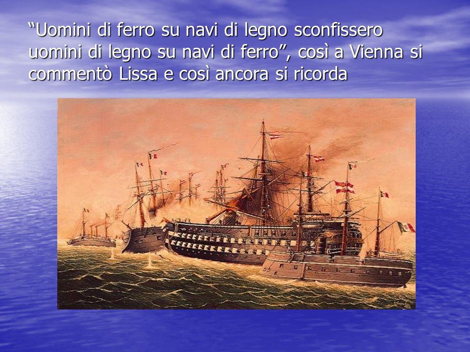 Liconografia austriaca su Lissa è vastissima; quella italiana, viceversa, è praticamente inesistente.