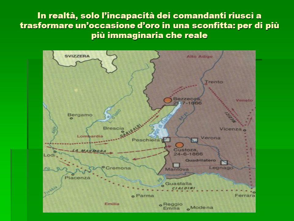La giornata del 24, non ingloriosa del resto per le armi italiane, costituì, più che una sconfitta, un insuccesso che era facilmente riparabile.