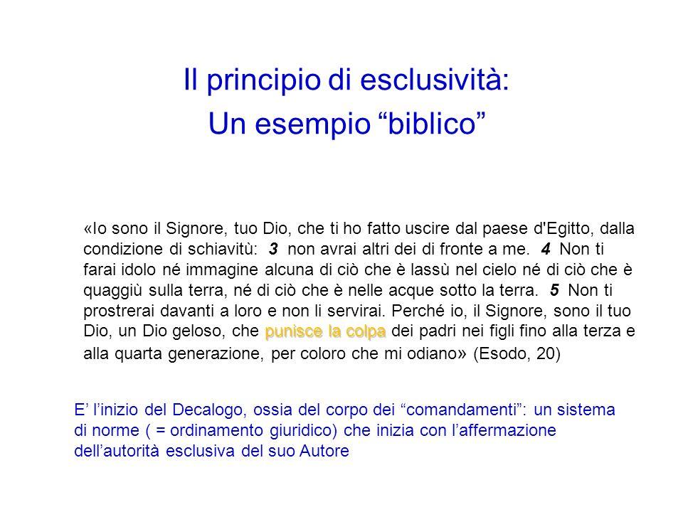 Il principio di esclusività: un esempio nel pallone DALLO STATUTO DELLA FEDERAZIONE ITALIANA GIOCO CALCIO ART.