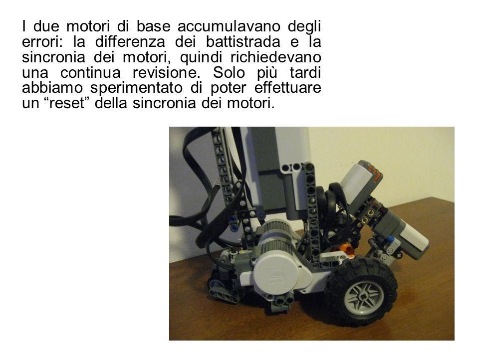 I due motori di base accumulavano degli errori: la differenza dei battistrada e la sincronia dei motori, quindi richiedevano una continua revisione. S