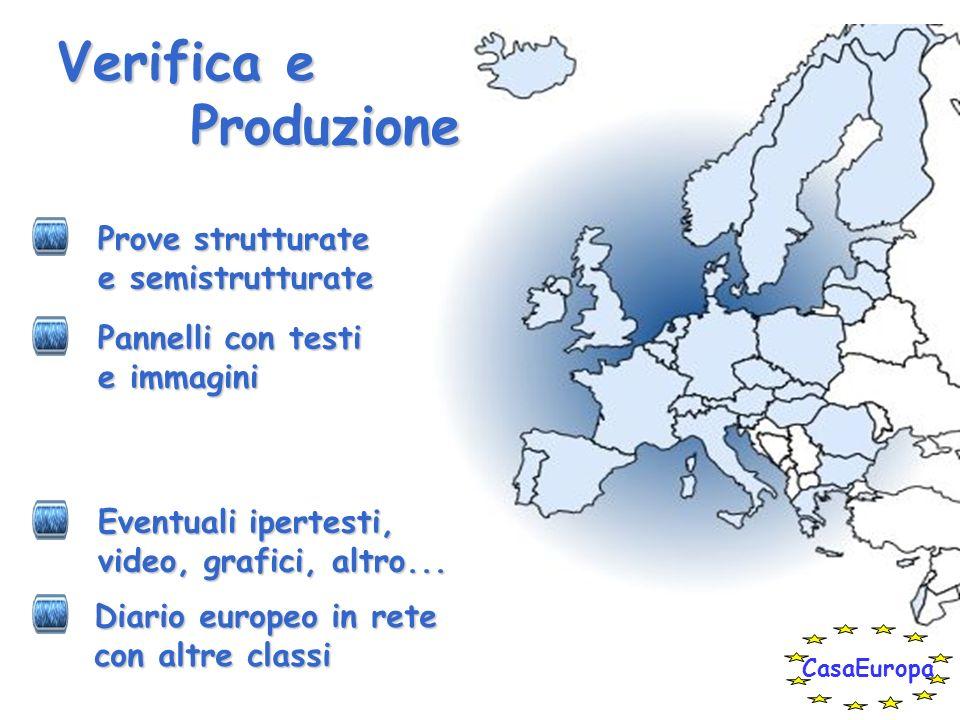 Contenuti RITORNO AL PRESENTE Stesura della Costituzione Europea Patrimonio culturale comune Da cittadino dEuropa a cittadino del mondo, anche attraverso le nuove tecnologie Allargamento dellUnione Europea CasaEuropa