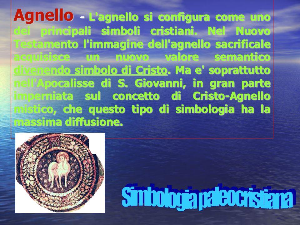 Agnello - L agnello si configura come uno dei principali simboli cristiani.