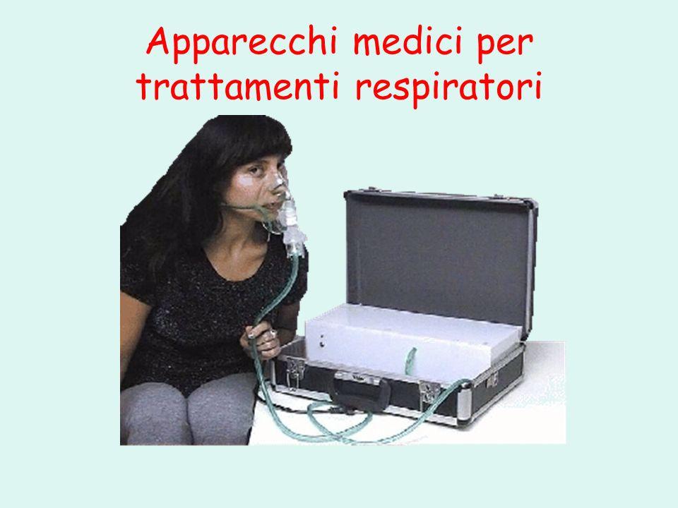 Apparecchi medici per trattamenti respiratori