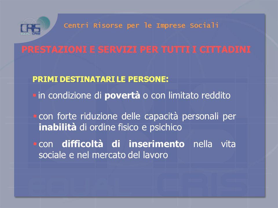 Centri Risorse per le Imprese Sociali Sistema di governo in cui le decisioni non sono più prese dal centro, ma co- decise da una rete di attori interdipendenti.