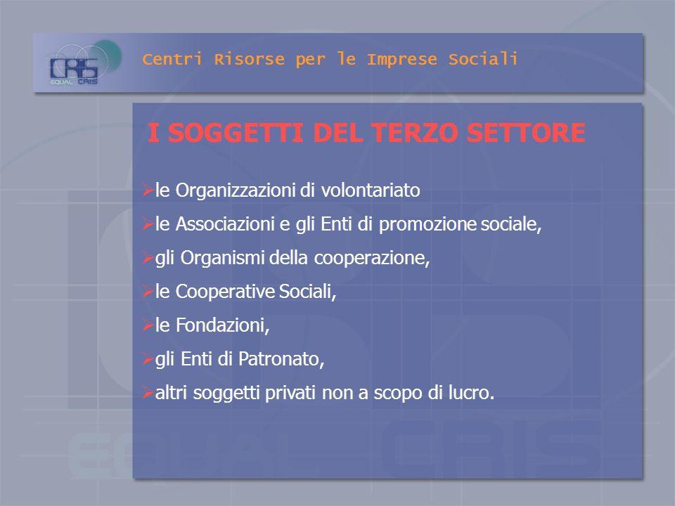 Centri Risorse per le Imprese Sociali ATTO DI INDIRIZZO E COORDINAMENTO SULLAFFIDAMENTO DEI SERVIZI SOCIALI Fornisce indirizzi per la regolazione dei