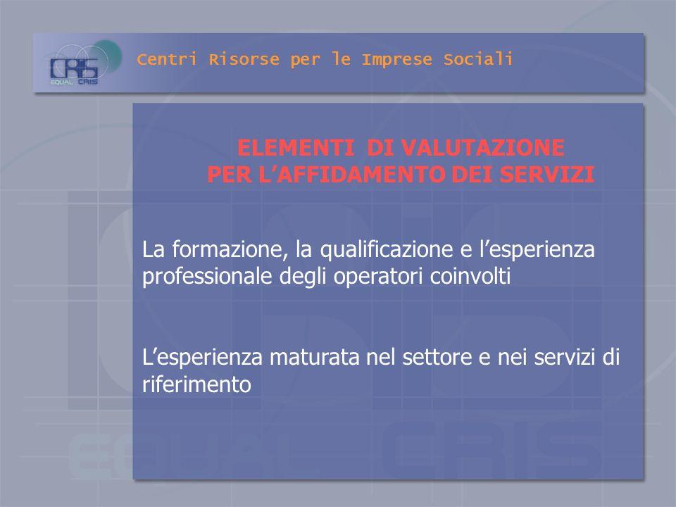 VOLONTARIATO Le Regioni ed i Comuni valorizzano lapporto del volontariato nel sistema di interventi e servizi come espressione organizzata di solidari
