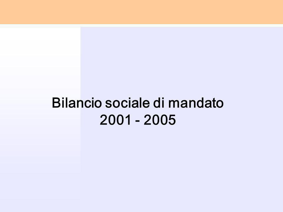 Bilancio sociale di mandato 2001 - 2005