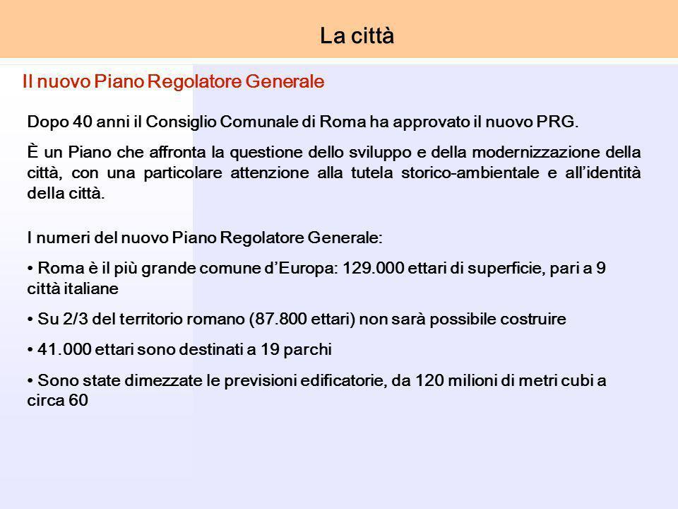 Dopo 40 anni il Consiglio Comunale di Roma ha approvato il nuovo PRG.