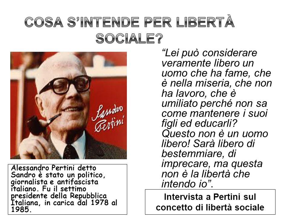 Alessandro Pertini detto Sandro è stato un politico, giornalista e antifascista italiano. Fu il settimo presidente della Repubblica Italiana, in caric