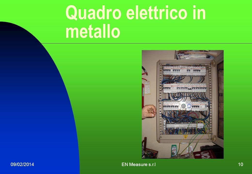 09/02/2014EN Measure s.r.l10 Quadro elettrico in metallo