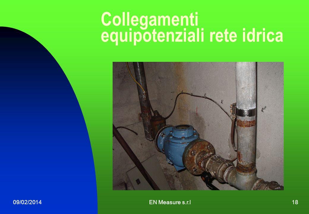 Collegamenti equipotenziali rete idrica 09/02/2014EN Measure s.r.l18