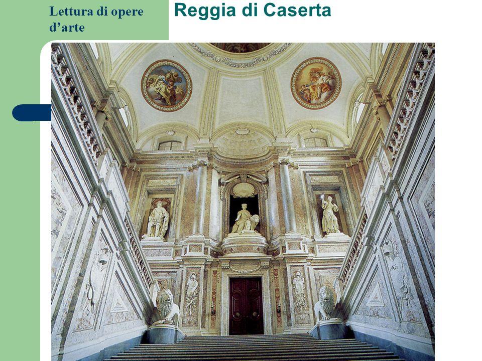 Lettura di opere darte Reggia di Caserta