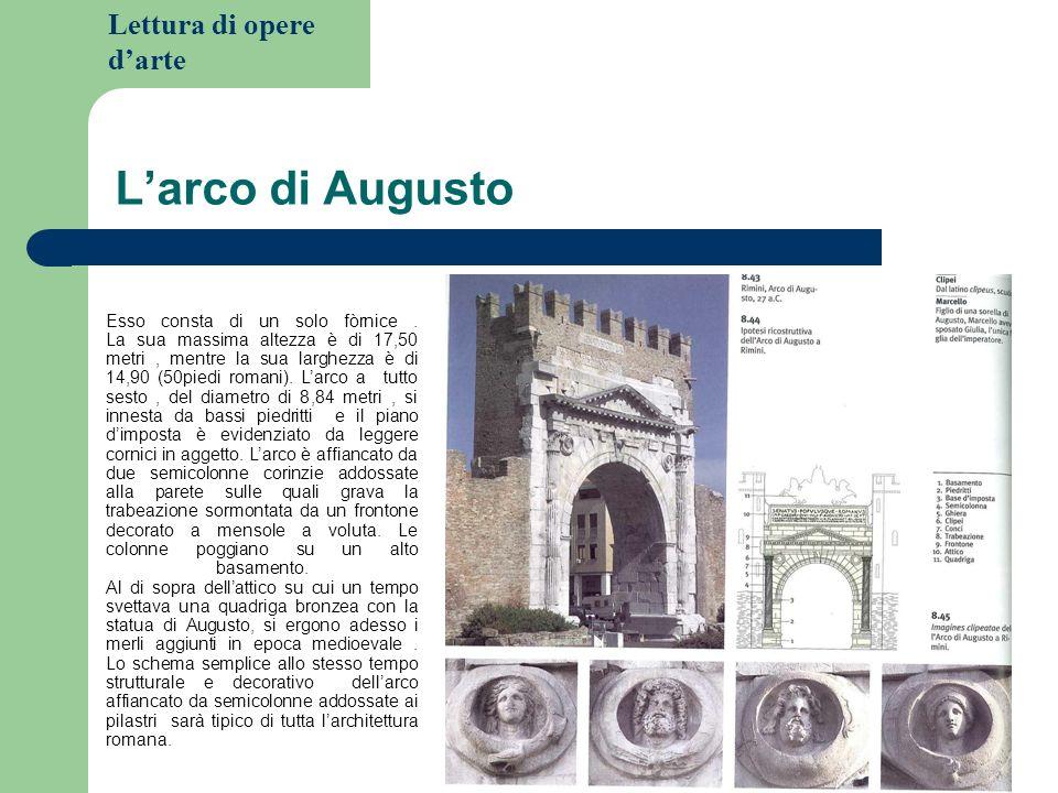 Lettura di opere darte Il teatro di Marcello 13 a.C Questo tipo di edificio, destinato allo svago e alla cultura trovò solo nella prima meta del I secolo a.C la possibilità di esistere.