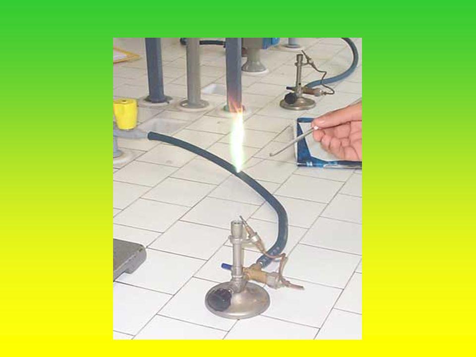 Il giallo del sodio è molto intenso e spesso nasconde la presenza di altri cationi come ad esempio il potassio.